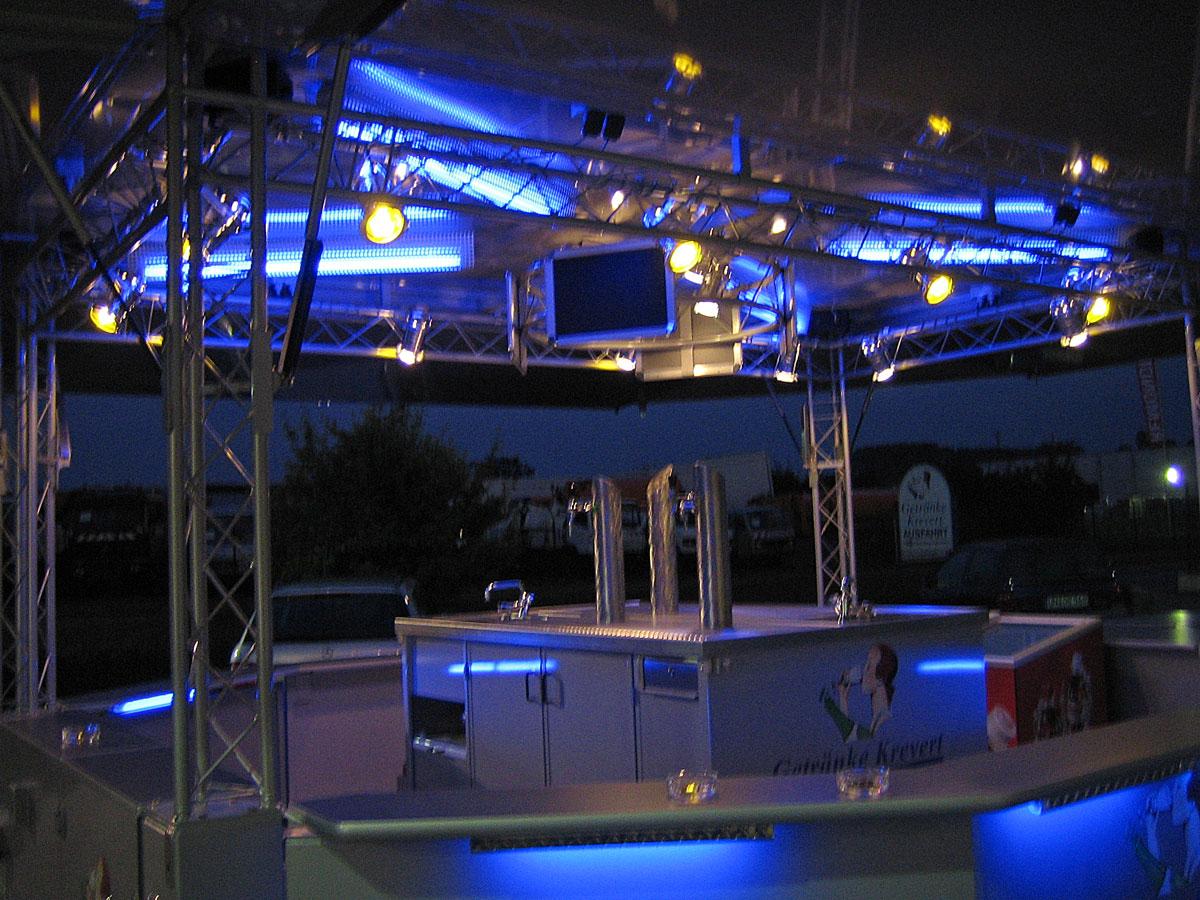 Backstage Nacht