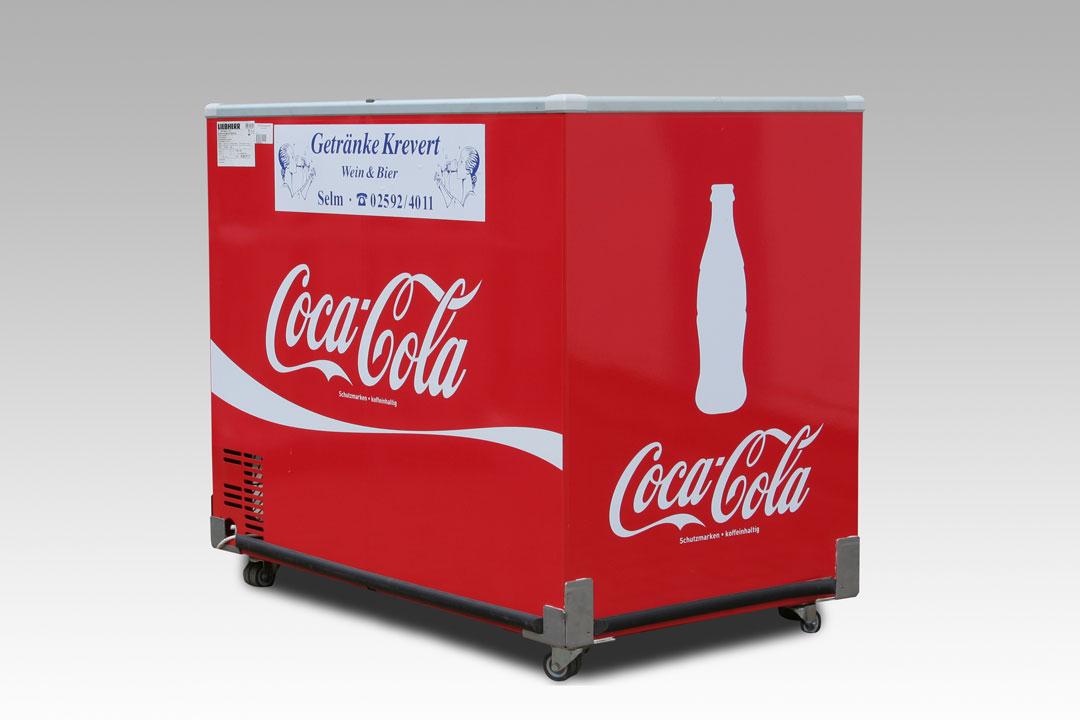 Coca Cola Kühltruhe
