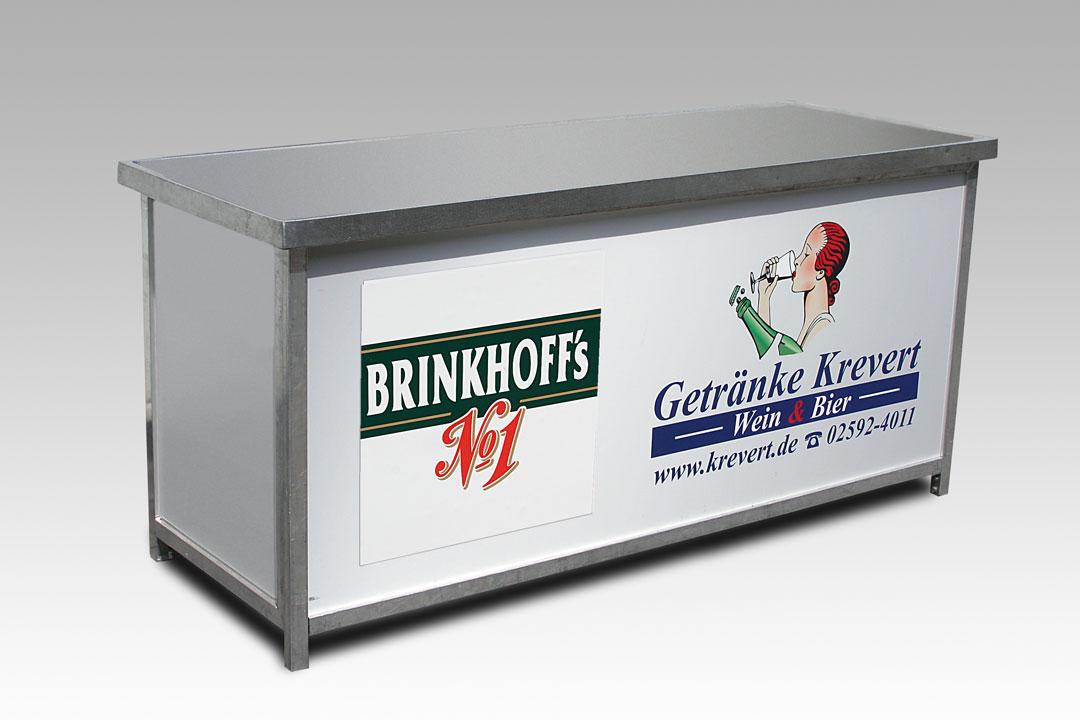 Brinkhoffstheke ohne Spüle