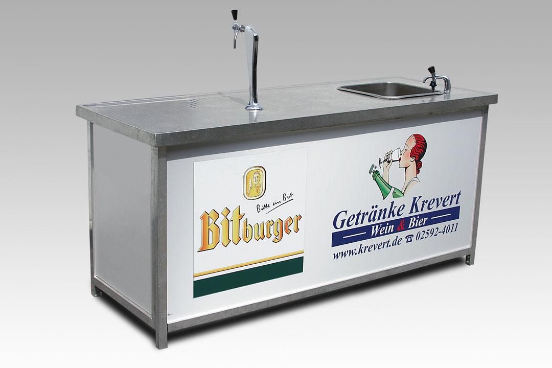 Bitburger Spültheke